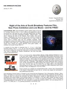 Night Of Arts At South Broadway Cultural Center